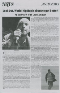 Feature Article - The Mike ( University of Toronto Newspaper )